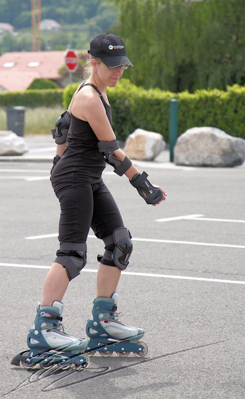 Soso Sophie portrait patineuse roller rollers rollerblade