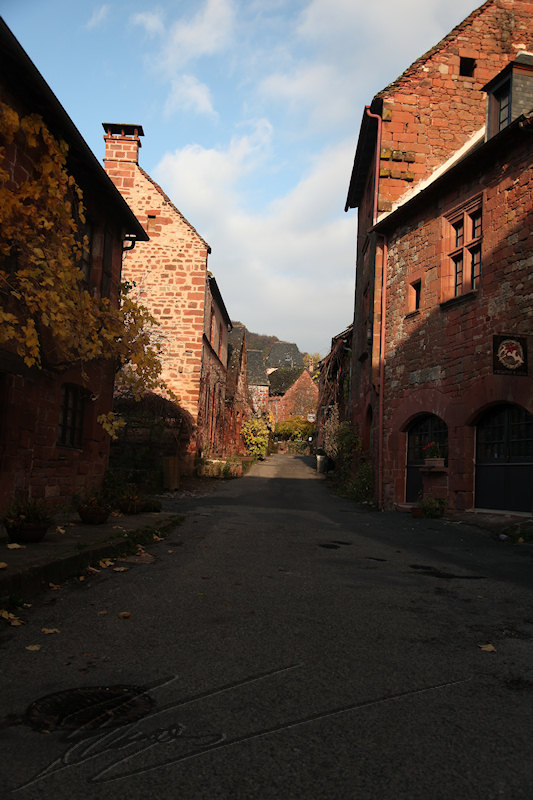 architecture reportage collonges-la-rouge Rue