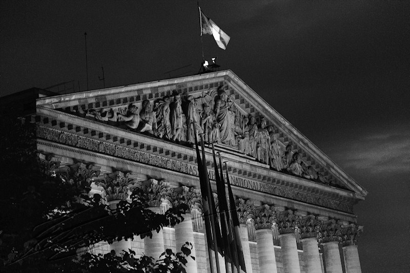 architecture reportage paris 20h Assemblee nationale
