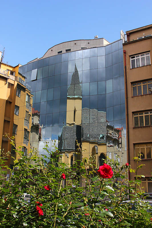 reportage 2014 république tchèque tchéquie czech prague praha cz architecture église Anglicane Épiscopale Saint-Clément St. Clement Anglican Episcopalian Church reflet mirroir mirror reflect