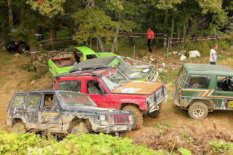 reportage 2014 finale trial 4x4 pers jussy france nationnal serie super serie proto voiture car boue terrain mud outdoor jeep nissan
