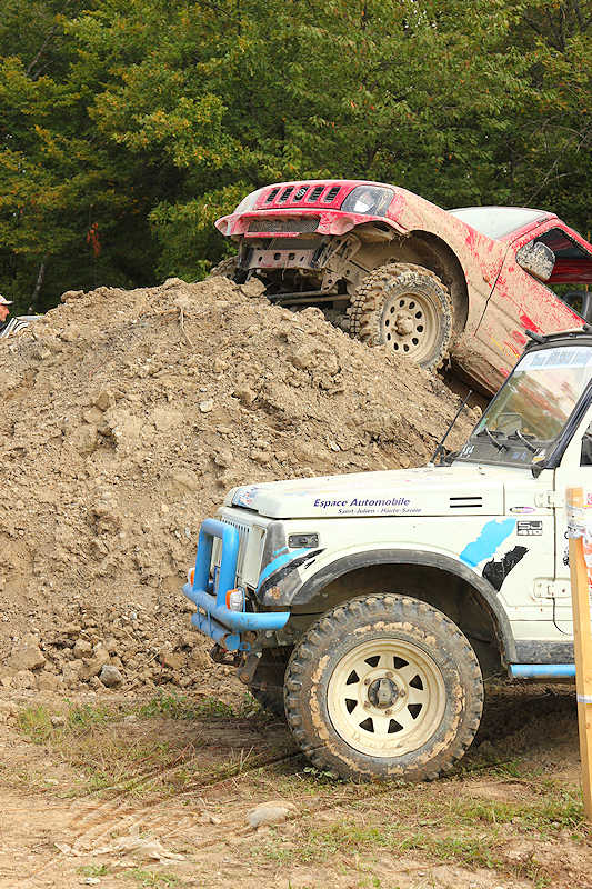 reportage 2014 finale trial 4x4 pers jussy france nationnal serie super serie proto voiture car boue terrain mud outdoor parking garer park véhicule