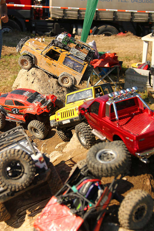reportage 2014 finale trial 4x4 pers jussy france nationnal serie super serie proto voiture car boue terrain mud outdoor photos de famille rc 1/10 scale crawler defender axial topcad scx10 gelande jeep range rover