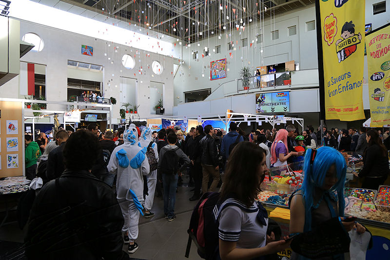 reportage 2016 france toulouse tolosa TGS game show salon du jeu vidéo manga japon comics dc marvel foule crowd